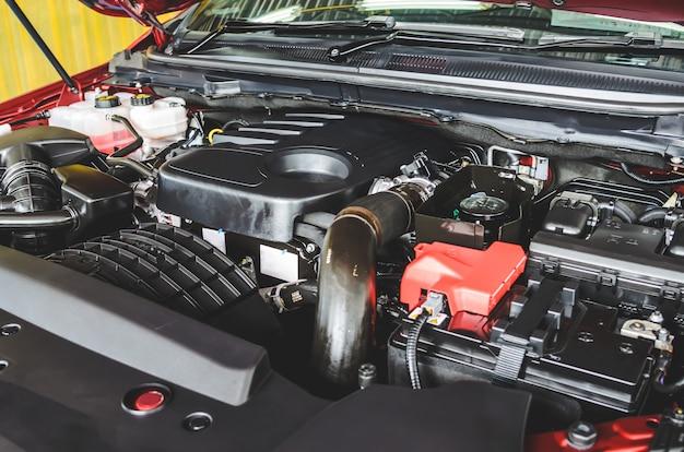 Auto motor detail