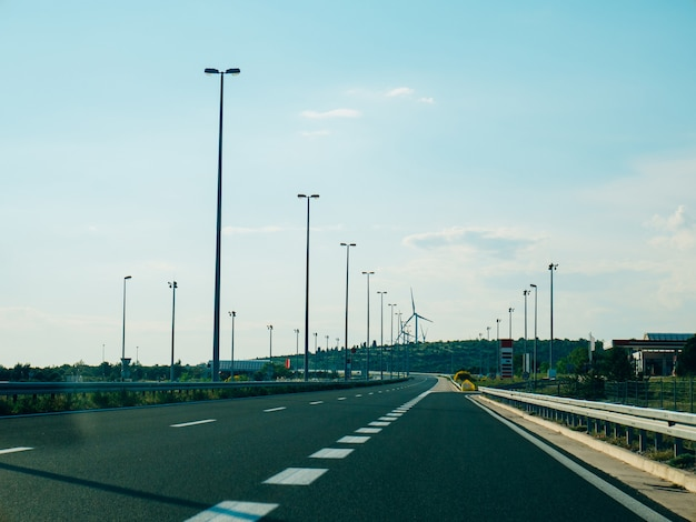 Autobahn autobahn in kroatien