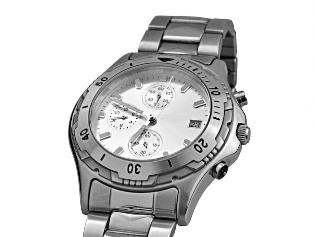 Automatische armbanduhr - beschneidungspfad