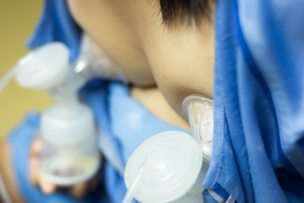 Automatische milchpumpe muttermilch ist das gesündeste futter für neugeborene