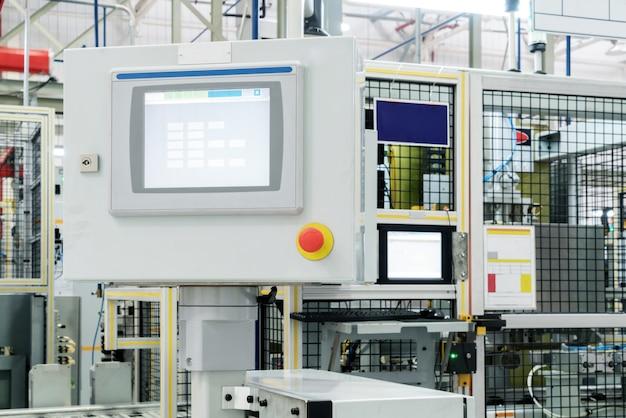 Automatischer roboter-steuerbildschirm