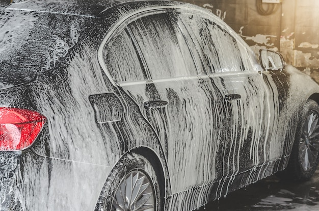 Autowaschblasen