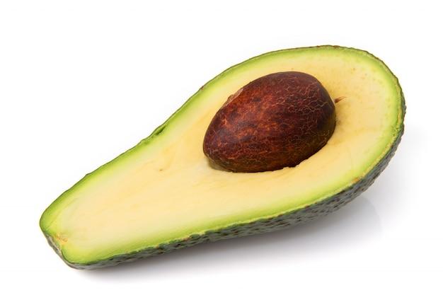 Avocado halb geschnitten