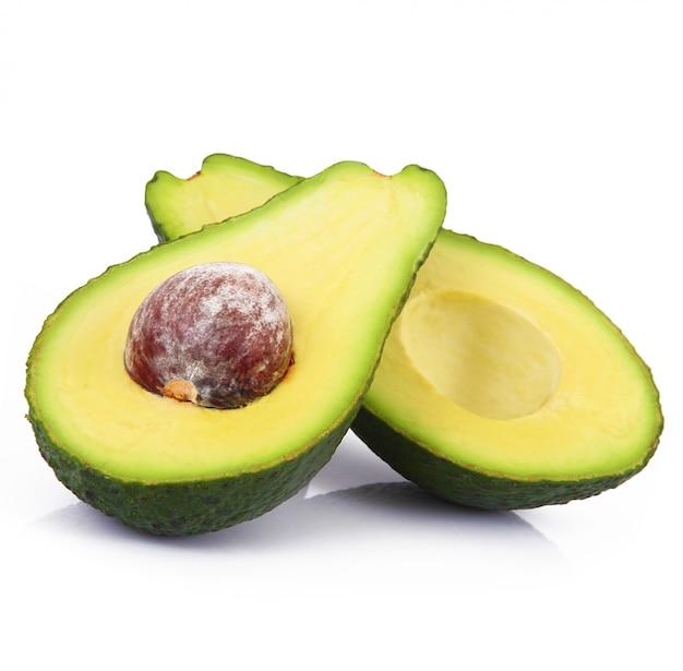 Avocado isoliert