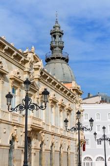 Ayuntamiento de cartagena murciacity halle spanien