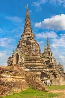 Ayutthaya historischer park in ayutthaya, thailand