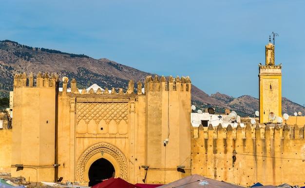 Bab chorfa, ein tor von fes - marokko