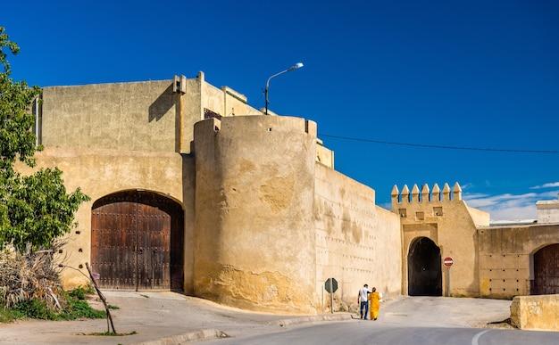 Bab lahdid, ein tor von fes - marokko