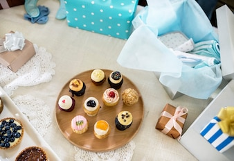 Baby-Dusche-Party