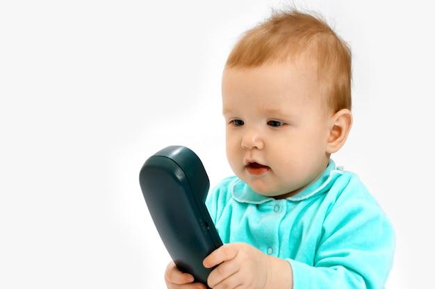 Baby und telefon