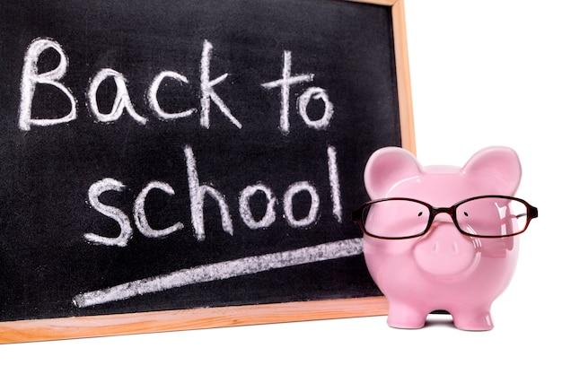 Back to school sparschwein