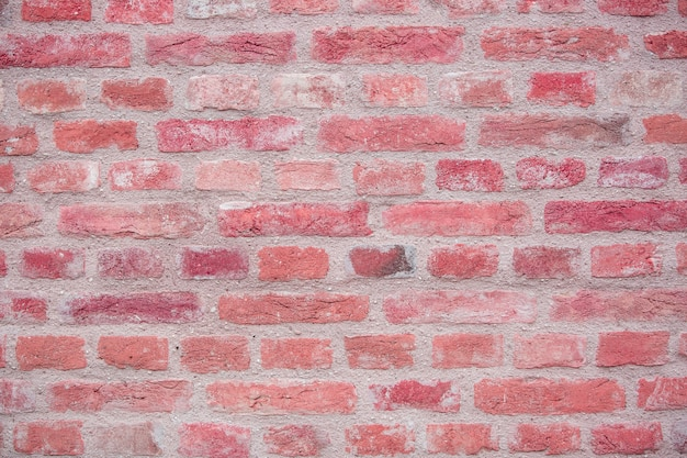 Backsteinmauer als hintergrund oder textur