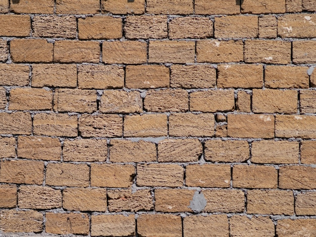 Backsteinmauer als hintergrund. ziegelwandmuster.