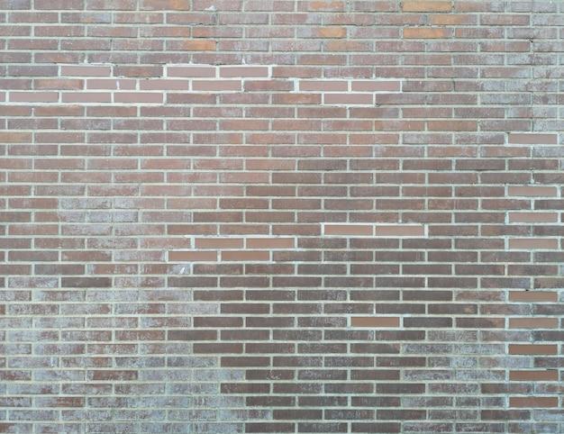 Backsteinmauerbeschaffenheit oder -hintergrund