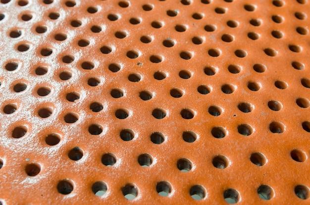 Backsteinmauerhintergrund von der keramik