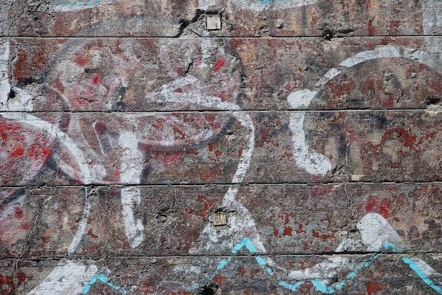Backsteinmauermuster, alter blick, groß für design