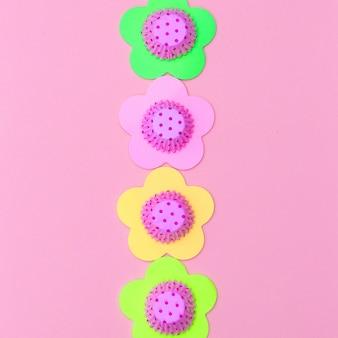 Backzubehör. süßigkeiten minimal art