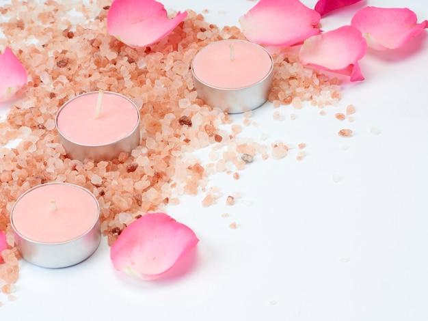 Badekurortsatz rosa himalajasalz.