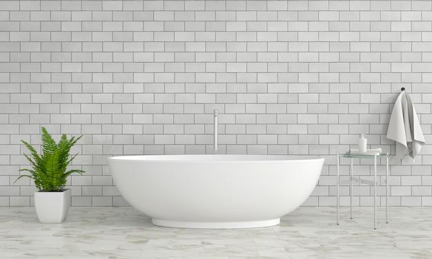 Badewanne im badezimmer