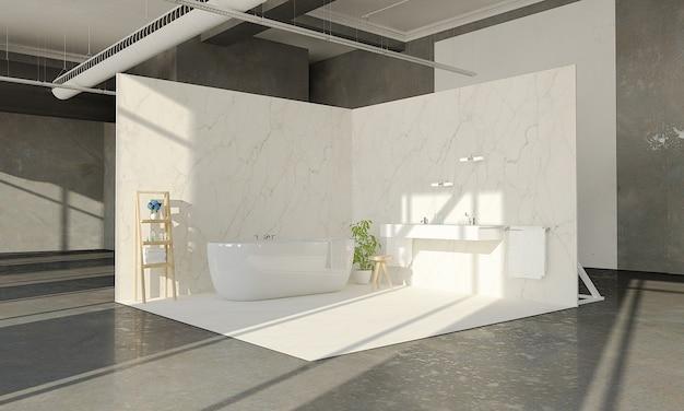 Badezimmer im ausstellungsraum