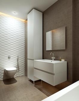Badezimmer im modernen stil