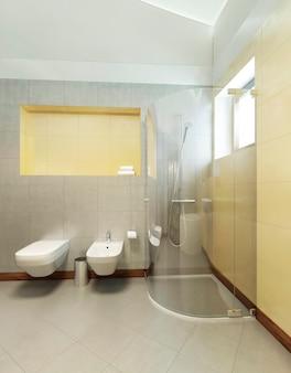 Badezimmer im zeitgenössischen stil