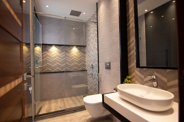 Badezimmer mit modernem design
