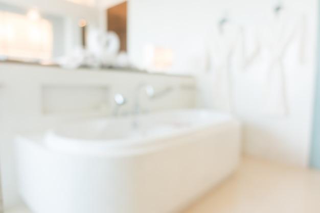 Badezimmer verwischen