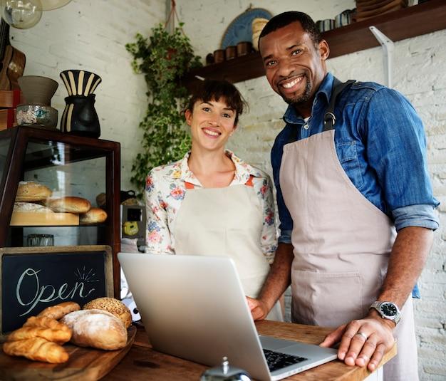 Bäckerei-shop-partnerschaften
