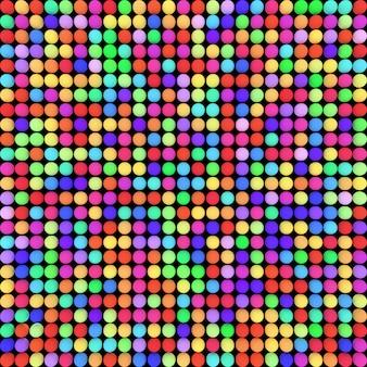 Bälle färben. helle farben, wiedergabe 3d