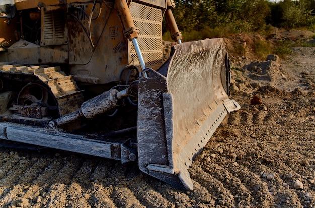 Baggerarbeiten bau geologie maschinentransport