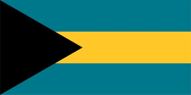 Bahama-flagge von bahamas