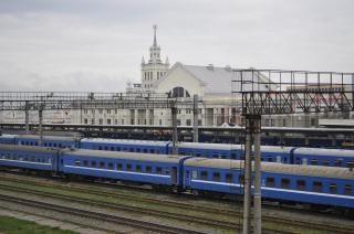 Bahnhof verfolgt