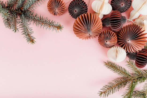 Ball girlande dekorationen