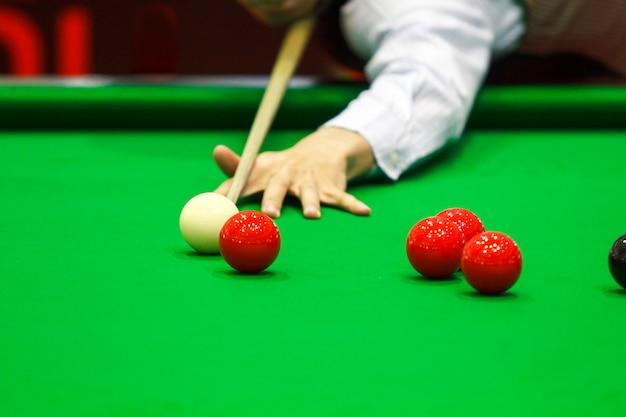 Ball- und snooker-spieler