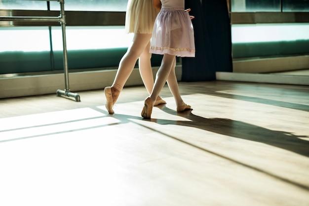 Ballett-tänzer-trainings-schulkonzept