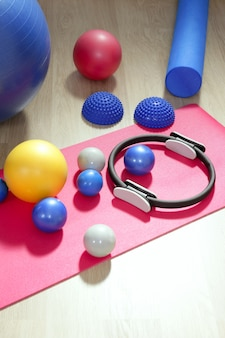 Balls pilates toning stabilität ring roller yoga