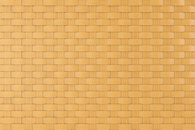 Bambus-wicker-muster als hintergrund extreme nahaufnahme