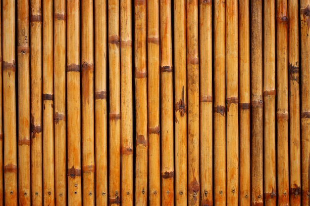 Bambus zaun hintergrund