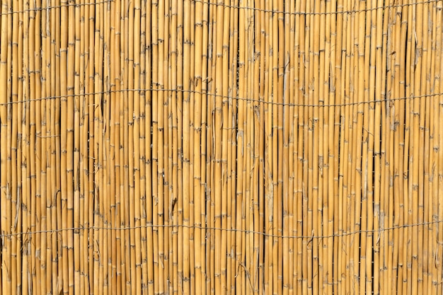 Bambushintergrund alter bambuszaun