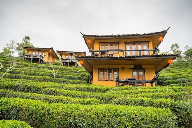 Ban rak thai, eine chinesische siedlung in der provinz mae hong son, nordthailand Premium Fotos
