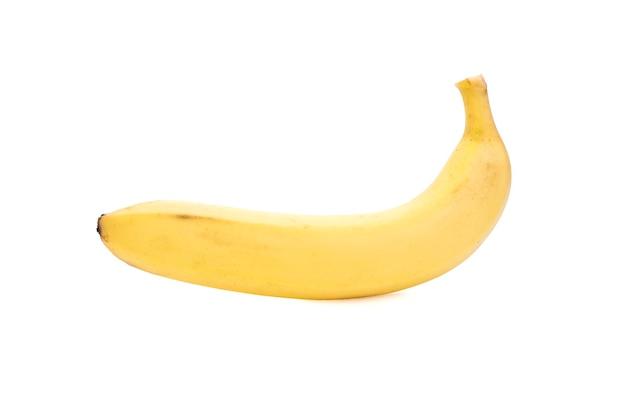 Banane isoliert auf weiß