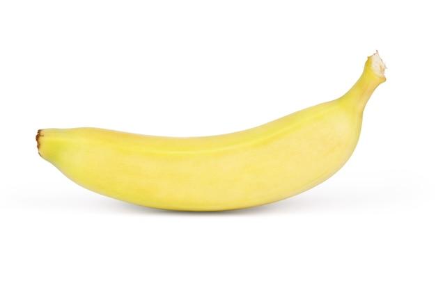 Banane. reife banane isoliert auf weißem hintergrund.