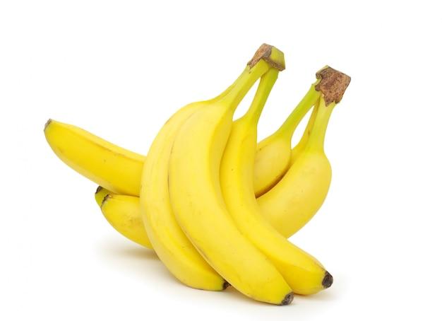 Bananen auf weiß isoliert