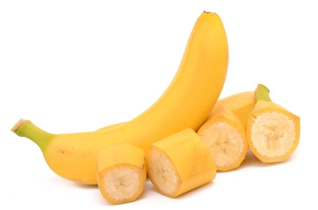 Bananen nahaufnahme detail isoliert