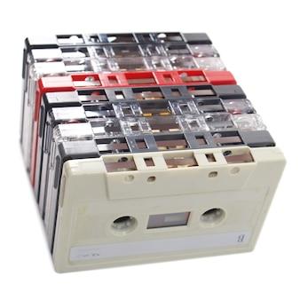 Bandkassetten isoliert