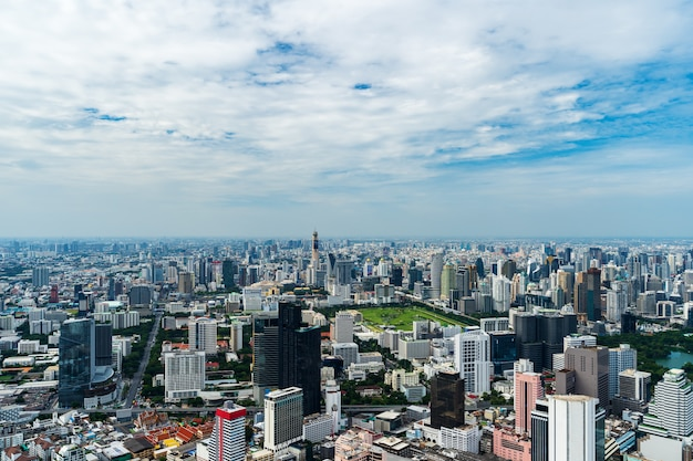 Bangkok-stadtbild in thailand