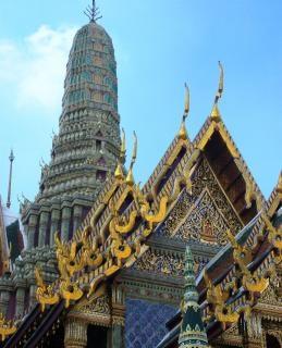 Bangkok wat phra keo thailand
