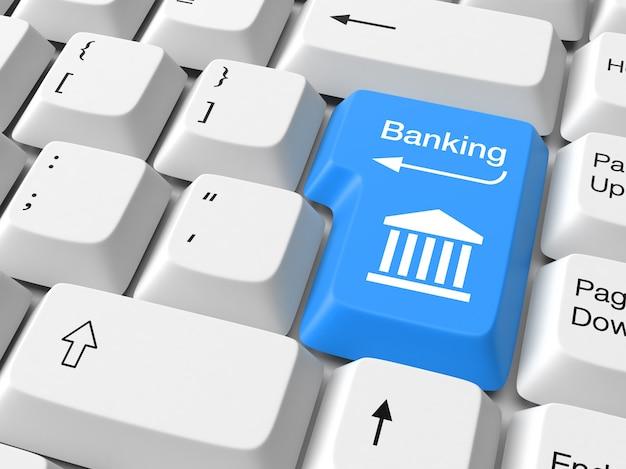 Banking auf tastaturtaste
