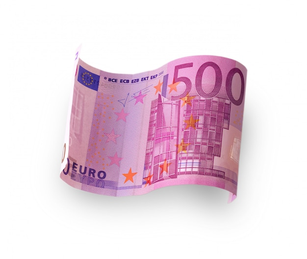Banknote in 500 euro